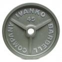 Disque Olympique Plein Métal Hammertone 15 kg