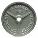 Disque Olympique Plein Métal Hammertone 20 kg