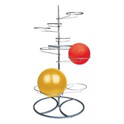 Rangement PRO pour 10 Gymballs TUNTURI 14TUSFU132