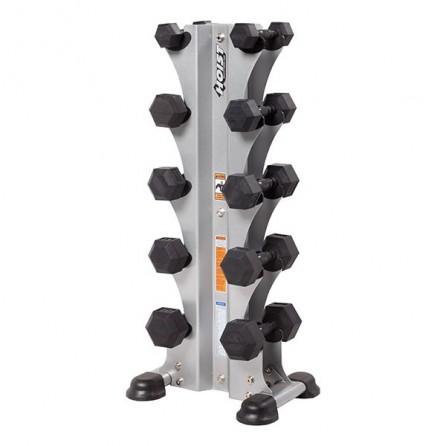 Range-haltères vertical Semi-Professionnel pour 5 paires Hoist Fitness HF-5459