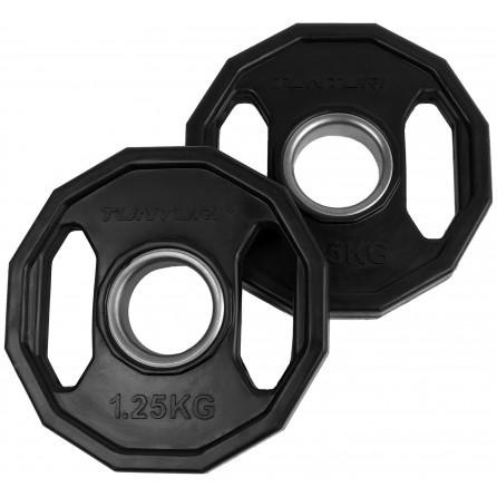 Disque Olympique PRO à poignées 1.25 kg (paire) Tunturi 14TUSCL273