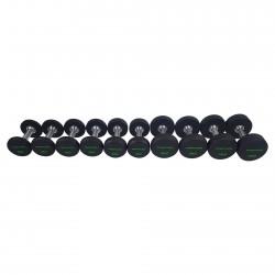 Série d'haltères PRO Uréthane 2-12 kg (10 paires)
