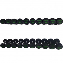 Set d'haltères PRO Uréthane 14-32 kg (10 paires)