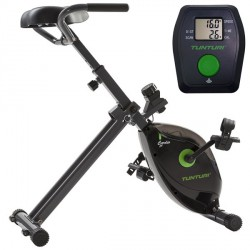 Pack Vélo de bureau + Console Tunturi CardioFit D20 Desk Bike 18TCFD2000 + 18TCFDC000