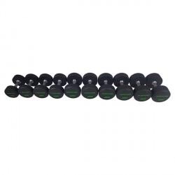 Série d'haltères PRO Uréthane 14-32 kg (10 paires)