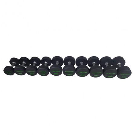 Set d'haltères PRO Uréthane 14-32 kg (10 paires) Tunturi 14TUSCF051
