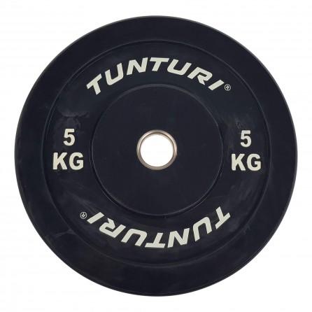 Disque Olympique Rebondissant 5 KG Bumper Plate Tunturi 14TUSCF056