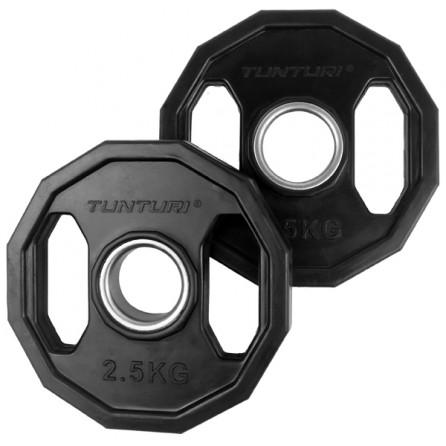 Disque Olympique PRO à poignées 2.5 kg (paire) Tunturi 14TUSCL273