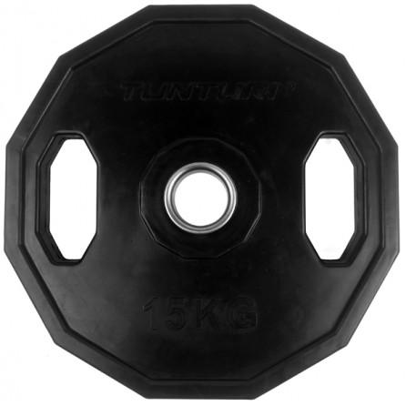 Disque Olympique PRO à poignées 15 kg Tunturi 14TUSCL276