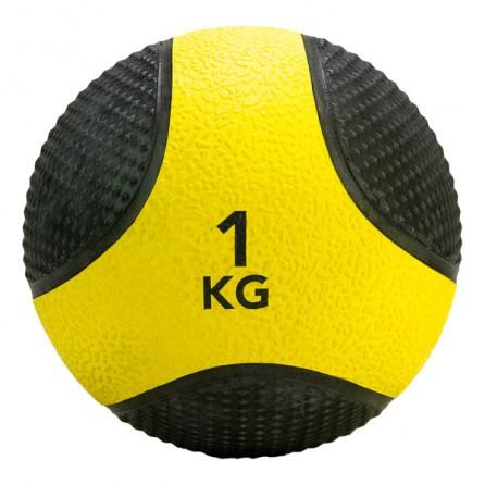 Médecine Ball Caoutchouc Antidérpant PRO 1 kg Tunturi 14TUSCL401