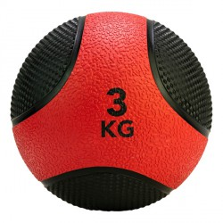 Médecine Ball Caoutchouc Antidérapant PRO 3 kg Tunturi 14TUSCL403