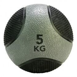Médecine Ball Caoutchouc Antidérapant PRO 5 kg Tunturi 14TUSCF405