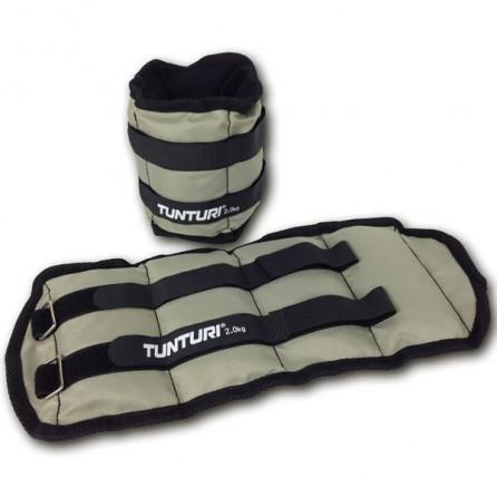 Bandes lestées pour jambes et bras 2x2.0kg Tunturi 14TUSFU107
