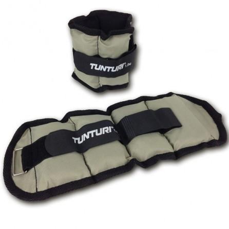 Bandes lestées pour jambes et bras 2x1.0kg Tunturi 14TUSFU118