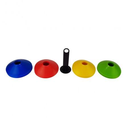 Set de 40 cônes d'agilité avec rangement Tunturi 14TUSTE147