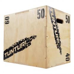 Plyo Box PRO en bois 3 faces 40/50/60 cm - Tunturi 14TUSCF077