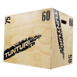 Plyo Box PRO en bois 3 faces 50/60/75 cm - Tunturi 14TUSCF078