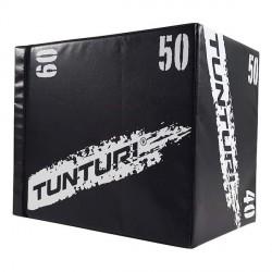 Plyo Box EVA et bois 3 faces 40/50/60 cm - Tunturi 14TUSCF079