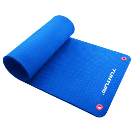 Tapis de sol Natte de Gym PRO Bleu 140 cm Tunturi 14TUSFU125