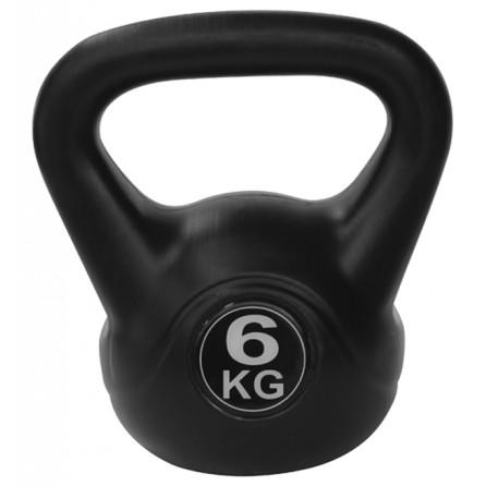 Kettlebell PVC 6 kg Tunturi 14TUSCL104 - Importateur Exclusif France