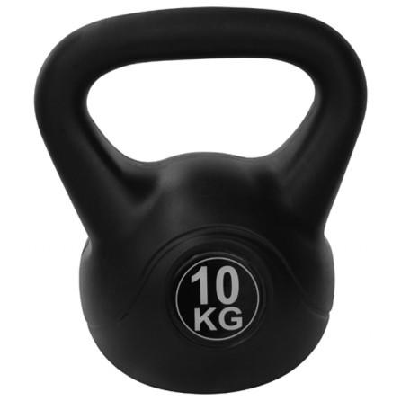 Kettlebell PVC 10 kg Tunturi 14TUSCL106 - Importateur Exclusif France