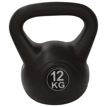 Kettlebell PVC 12 kg Tunturi 14TUSCL182 - Importateur Exclusif France