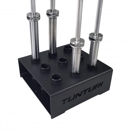 Rangement barre olympique vertical Tunturi 14TUSCF066