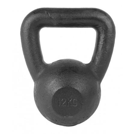 Kettlebell Fonte 12 kg avec pad caoutchouc TUNTURI 14TUSCL332
