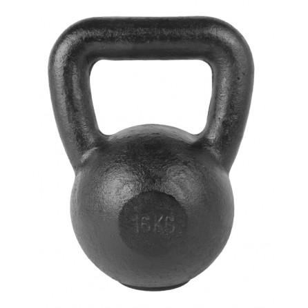 Kettlebell Fonte 16 kg avec pad caoutchouc TUNTURI 14TUSCL333