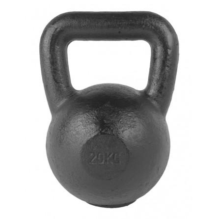 Kettlebell Fonte 20 kg avec pad caoutchouc TUNTURI 14TUSCL334