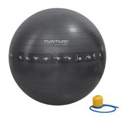 Gymball noir anti-éclatement 65 cm