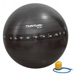 Gymball noir anti-éclatement 90 cm