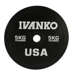 Disque Olympique Bumper 5 kg