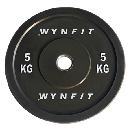 Disque Olympique Crossfit Rebondissant WynFit ORBP-05KG