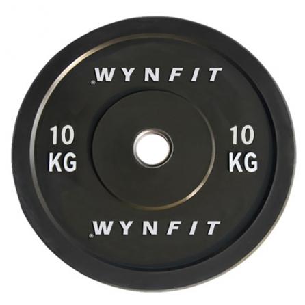 Disque Olympique Crossfit Rebondissant WynFit ORBP-10KG