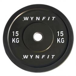 Disque Olympique Crossfit Rebondissant WynFit ORBP-15KG