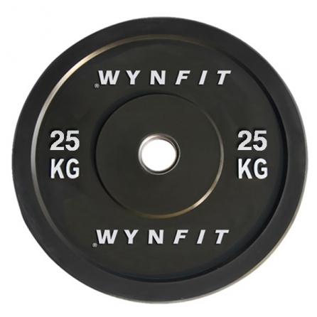Disque Olympique Crossfit Rebondissant WynFit ORBP-25KG