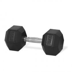 Haltère PRO hexagonal 6 kg Tunturi 14TUSCL180-06