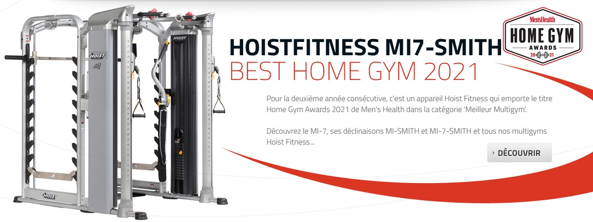 Hoist Fitness MI-7-Smith élu meilleur Multigym 2021 par Men's Health